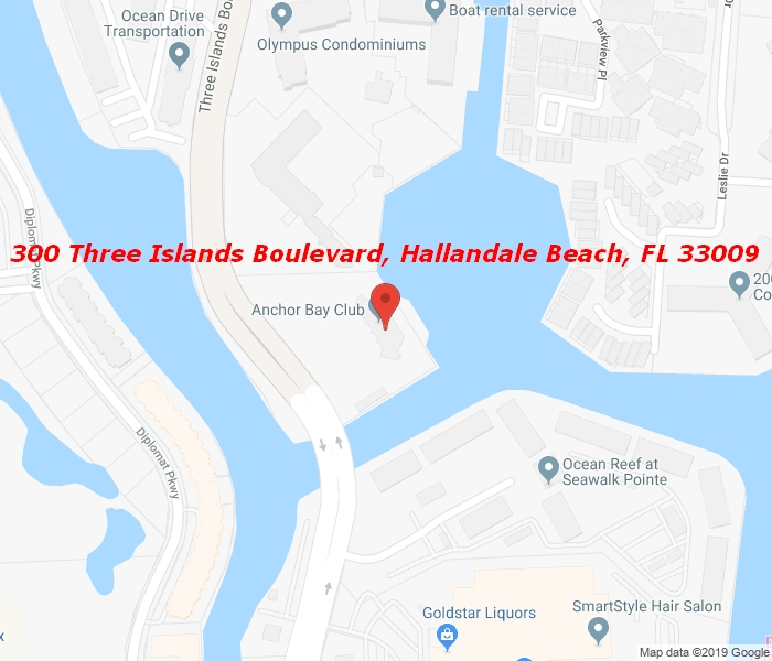 300 Three Islands Blvd #305, Hallandale Beach, Florida, 33009